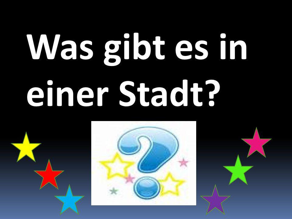 Logische Reihe 1.Strasse, Platz, Stadt, sauber, Museum 2.Gebaude,Fluss,Kirche,Schloss,Kathedrale 3.