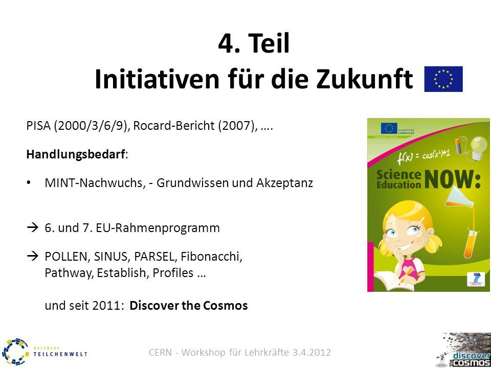 CERN - Workshop für Lehrkräfte 3.4.2012 4.