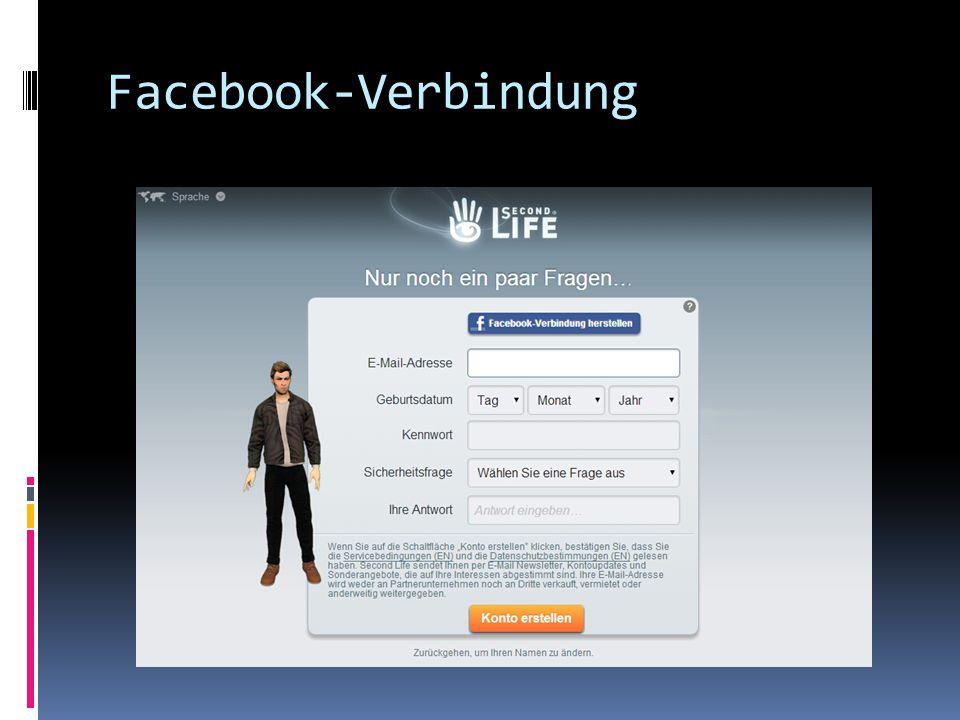 Facebook-Verbindung