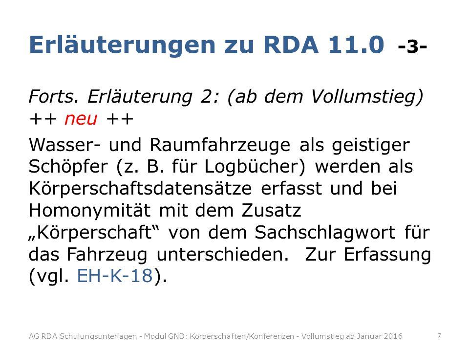 """Redaktionsabsprachen -2- Fall 2: Die Entität gab es prinzipiell bereits im Teilbestand """"Sacherschließung (z.B."""