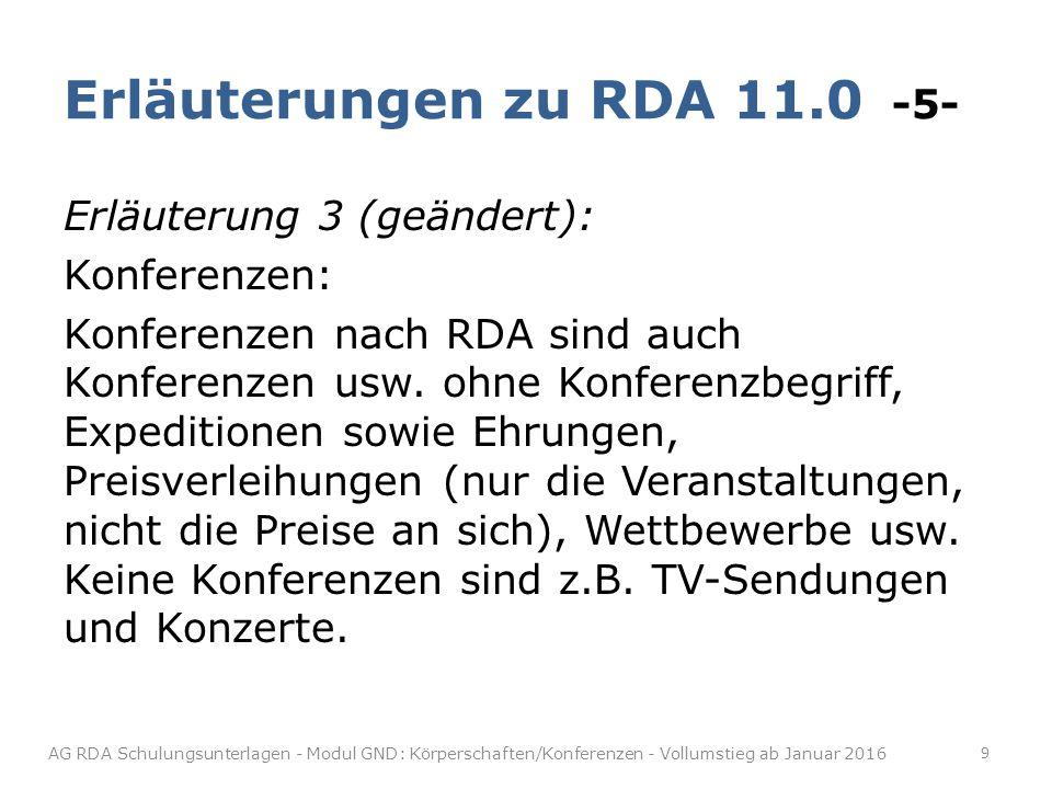 Amtsinhaber/Regierungschefs/ Würdenträger -12- RDA 11.2.2.18, RDA 11.2.2.26 In die Normdatensätze für Amtsträger wird ein entsprechender Benutzungshinweis ergänzt.