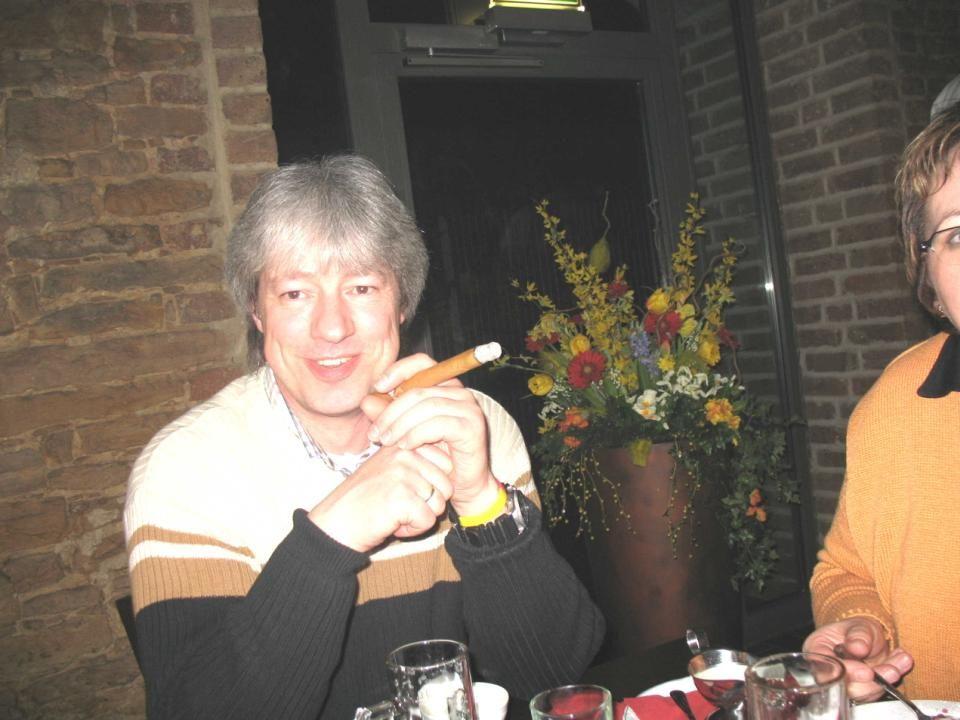 Jetzt noch eine wohlverdiente Zigarre und der Ausflug ist perfekt.