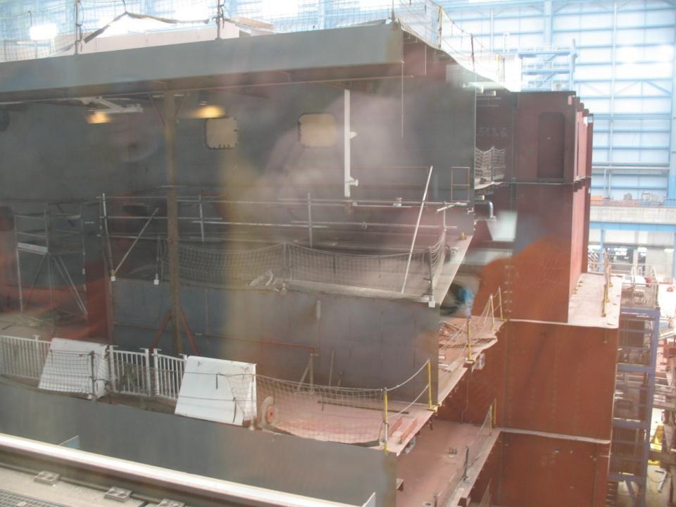 Dann wurden die wirklich imposanten Werks- und Montagehallen besichtigt.