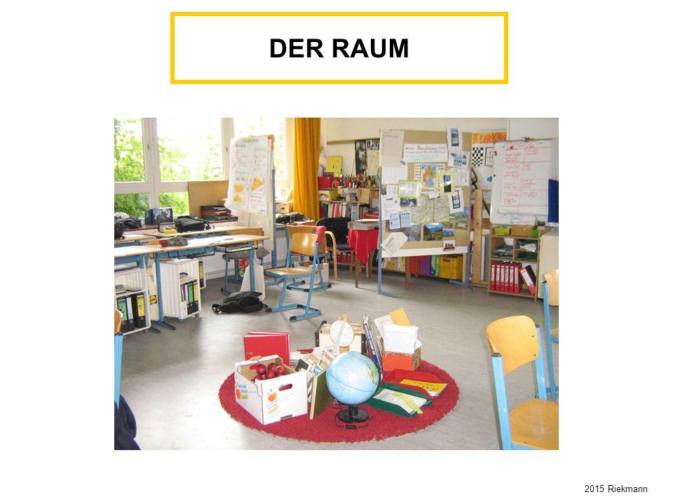 DER RAUM 2015 Riekmann