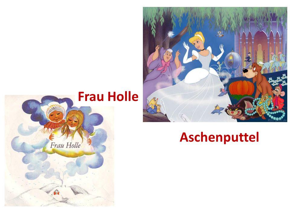 Aschenputtel Frau Holle
