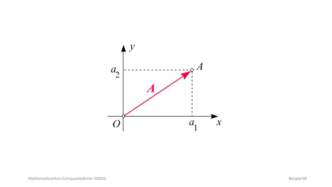 Mathematikvorkurs Campusakademie SS2015Beispiel 60