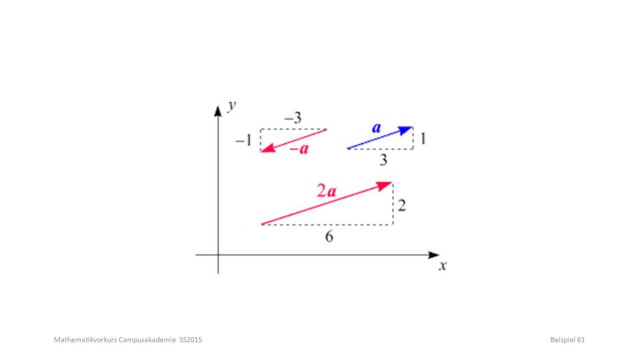 Mathematikvorkurs Campusakademie SS2015Beispiel 61