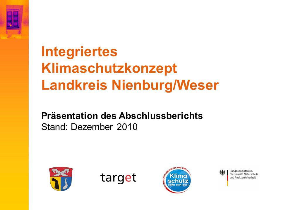 Integriertes Klimaschutzkonzept Landkreis Nienburg/Weser Präsentation des Abschlussberichts Stand: Dezember 2010
