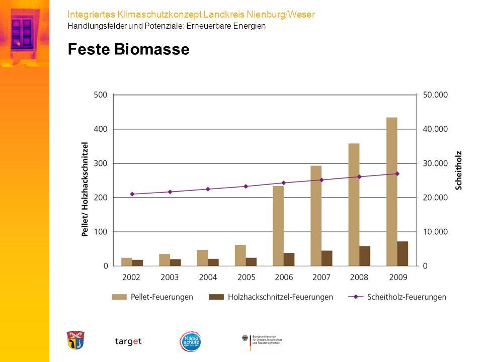 Integriertes Klimaschutzkonzept Landkreis Nienburg/Weser Feste Biomasse Handlungsfelder und Potenziale: Erneuerbare Energien