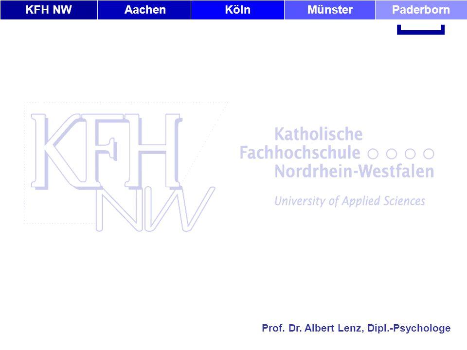 KFH NWAachenKölnMünsterPaderborn [ Prof. Dr. Albert Lenz, Dipl.-Psychologe Ende