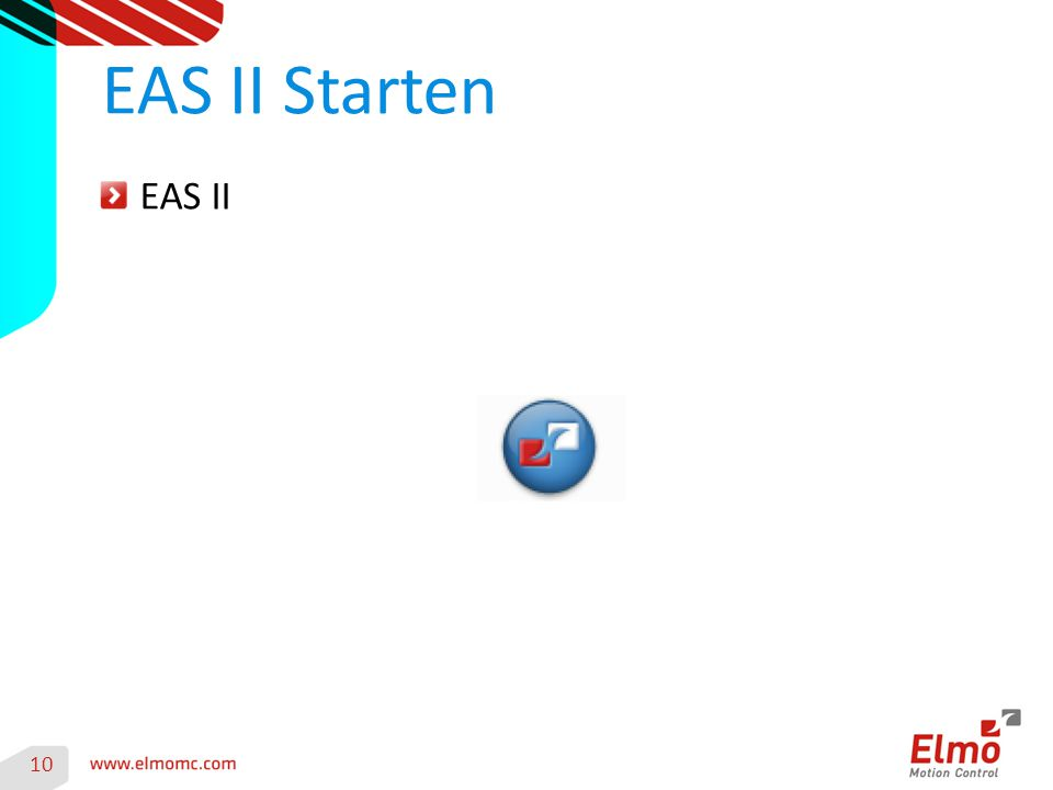 EAS II EAS II Starten 10