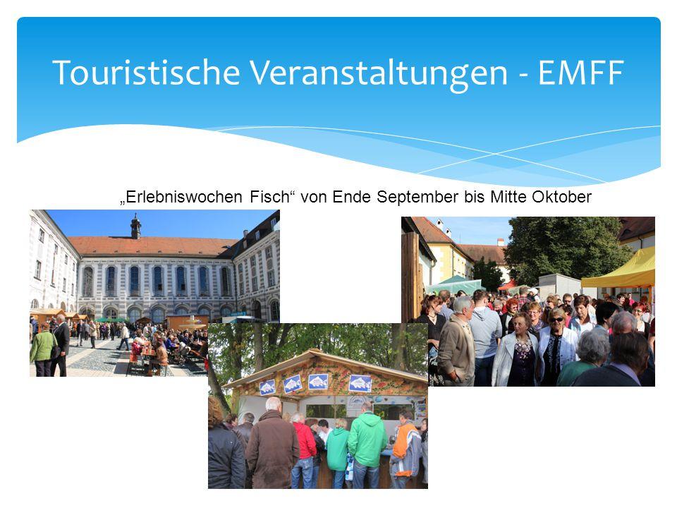 """Touristische Veranstaltungen - EMFF """"Erlebniswochen Fisch"""" von Ende September bis Mitte Oktober"""