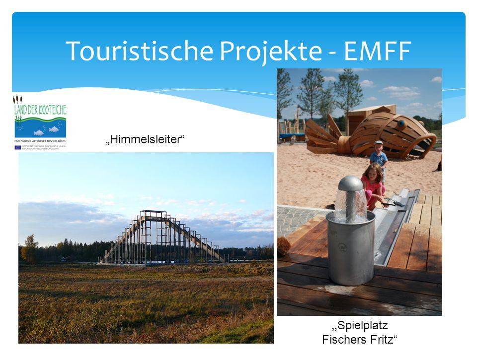 """Touristische Projekte - EMFF """"Himmelsleiter """"Spielplatz Fischers Fritz"""