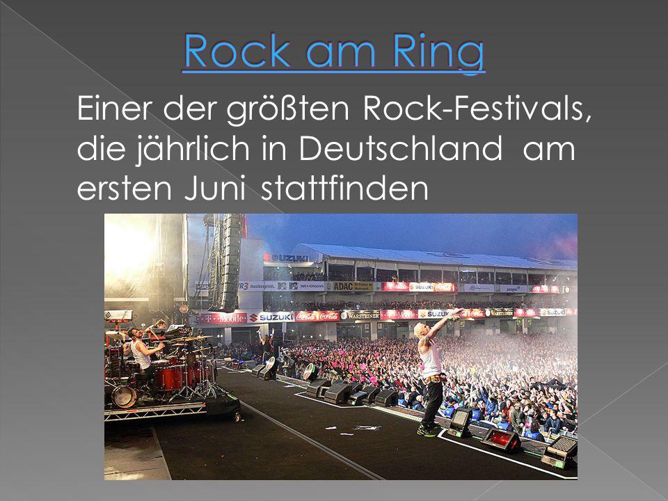 Einer der größten Rock-Festivals, die jährlich in Deutschland am ersten Juni stattfinden