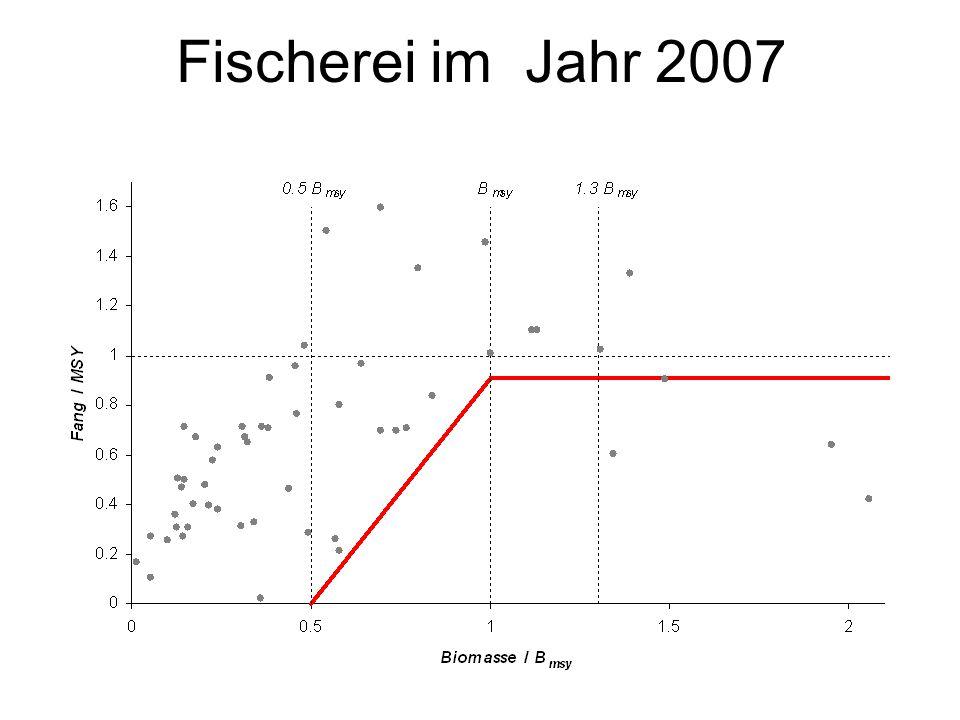 Fischerei im Jahr 2007