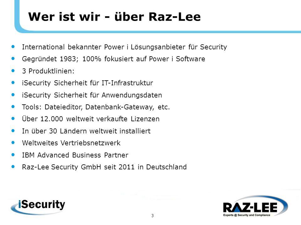 4 Verursacher von Sicherheitsproblemen Fast 90% der Sicherheitsprobleme auf IBM Power i Systemen werden durch eigene Mitarbeiter verursacht