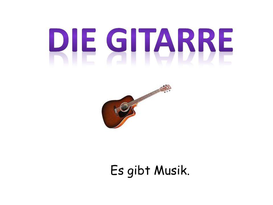 Es gibt Musik.