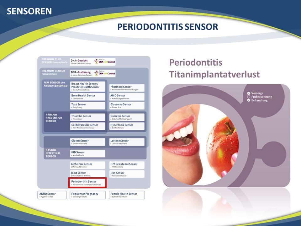 SENSOREN PERIODONTITIS SENSOR Periodontitis Titanimplantatverlust