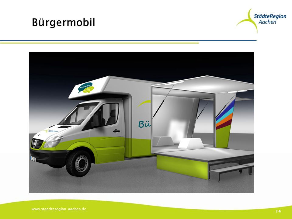 Bürgermobil www.staedteregion-aachen.de 14