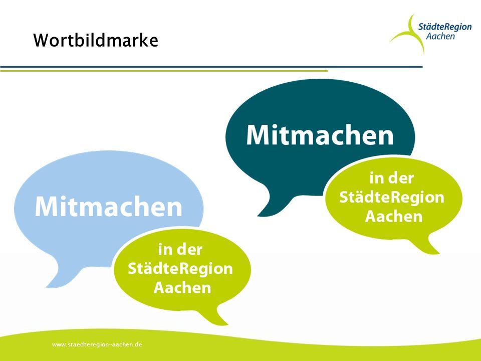 www.staedteregion-aachen.de Wortbildmarke