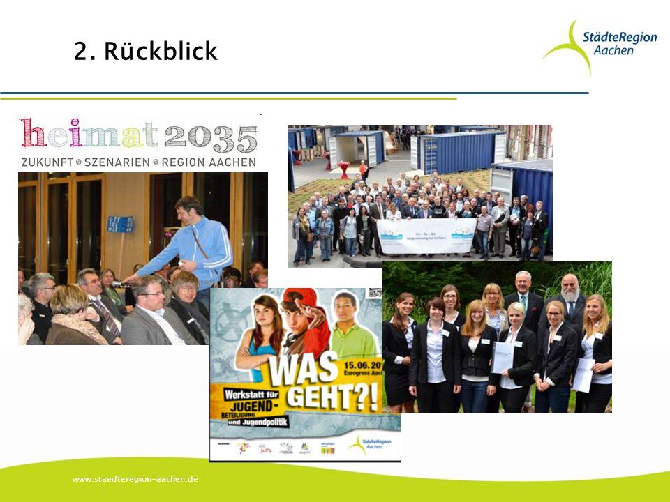 www.staedteregion-aachen.de 2. Rückblick