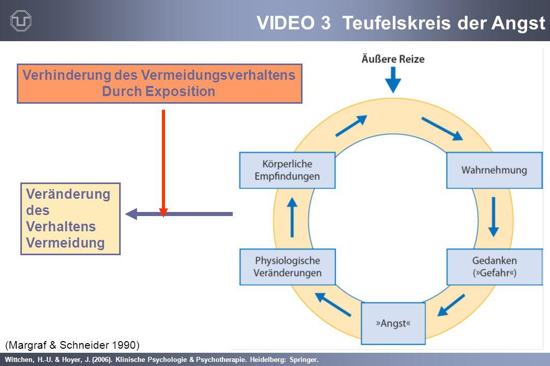 Wittchen, H.-U. & Hoyer, J. (2006). Klinische Psychologie & Psychotherapie. Heidelberg: Springer. (Margraf & Schneider 1990) Veränderung des Verhalten