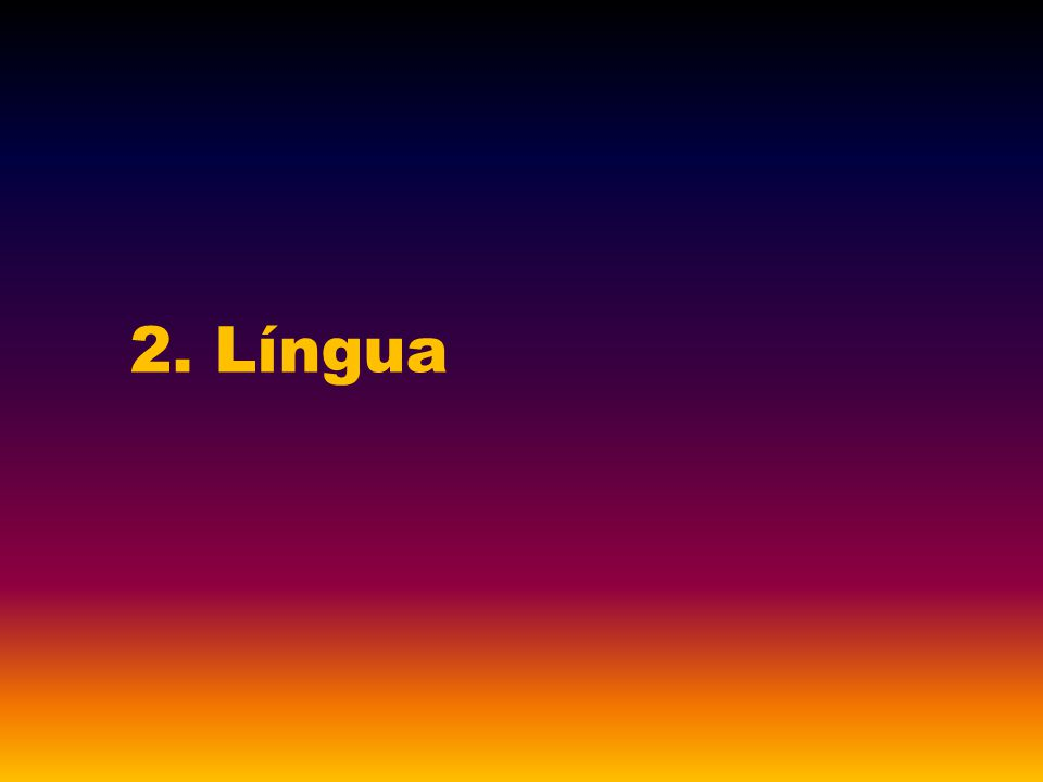 2. Língua