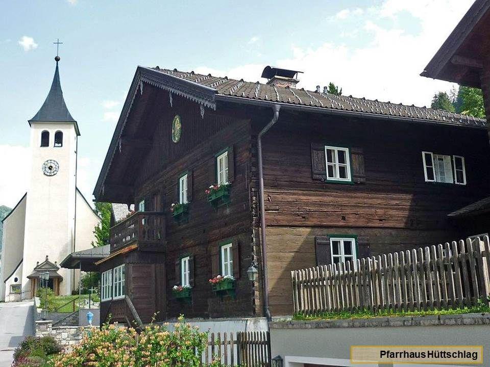 Hüttschlag die ehemalige Bergbaugemeinde, liegt auf 1020 m Höhe.