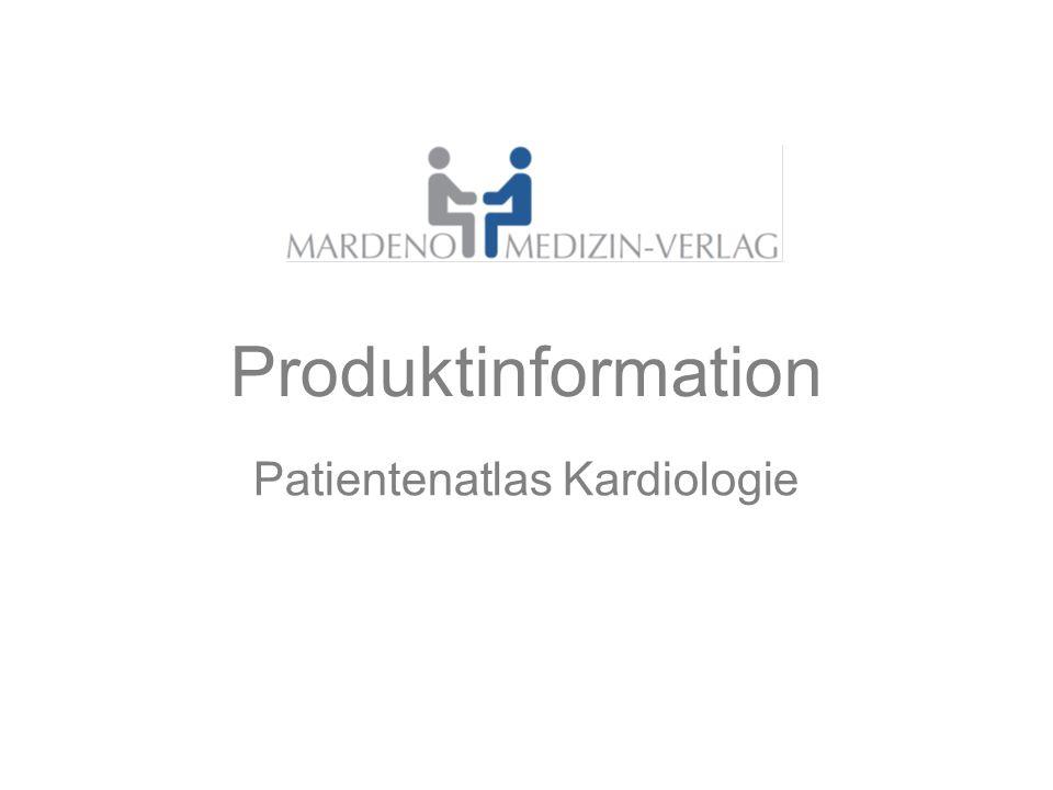 Produktinformation Patientenatlas Kardiologie