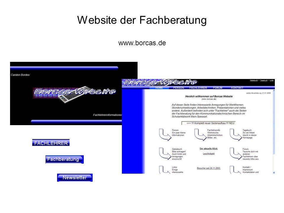 Website der Fachberatung www.borcas.de