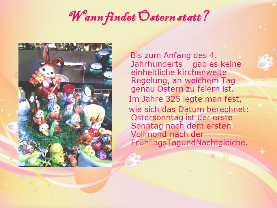Was gehört zum Osterfest.Darüber hat der deutsche Dichter Bernd Hansen in seinem Gedicht erzählt.