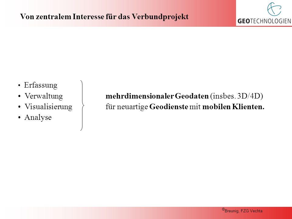 Entwicklung eines Gesamtkonzepts für die Erfassung, Verwaltung, Nutzung und Visualisierung von Geodaten für moderne mobile Geodienste.