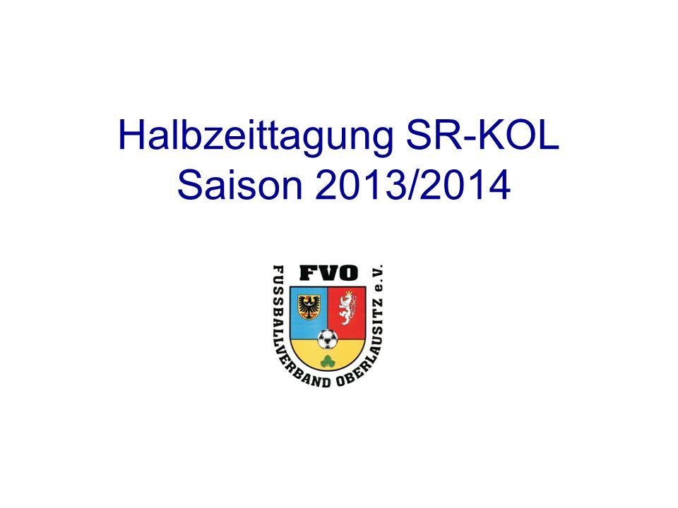 Halbzeittagung SR-KOL Saison 2013/2014