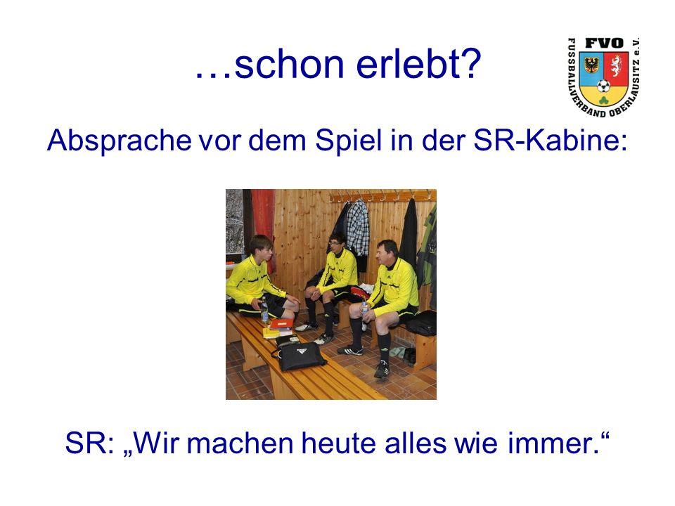 Frage Wie kommt es, dass erfahrene SR-Teams, die öfter gemeinsam zu Einsätzen fahren, trotz solcher Absprachen gute bzw.