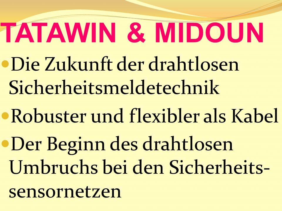 Zum ersten Mal bietet TATAWIN/MIDOUN die Möglichkeit, die Installation der Funkzelle in der Fabrik komplett vorzubereiten und vor Ort in Betrieb zu nehmen.