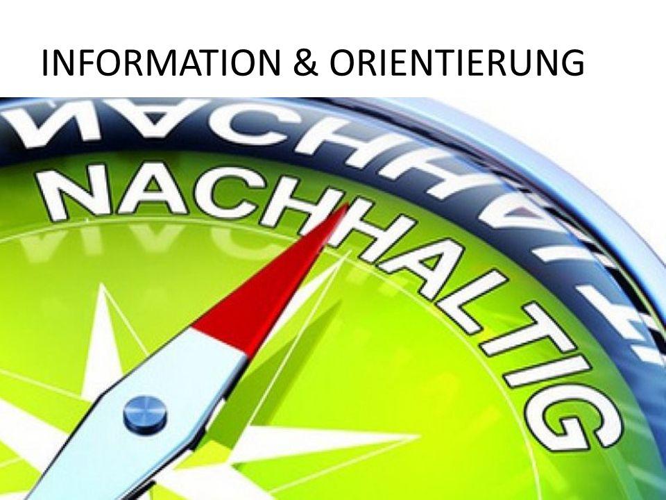 INFORMATION & ORIENTIERUNG 6