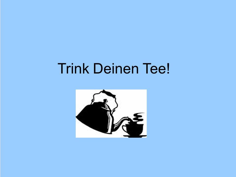 © Dr. Kai Romhardt www.romhardt.com www.achtsame-wirtschaft.de Trink Deinen Tee!