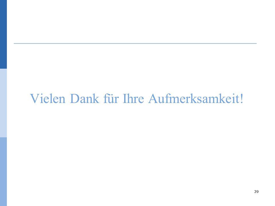 Vielen Dank für Ihre Aufmerksamkeit! © Bernhard Badura, Universität Bielefeld, Fakultät für Gesundheitswissenschaften 39