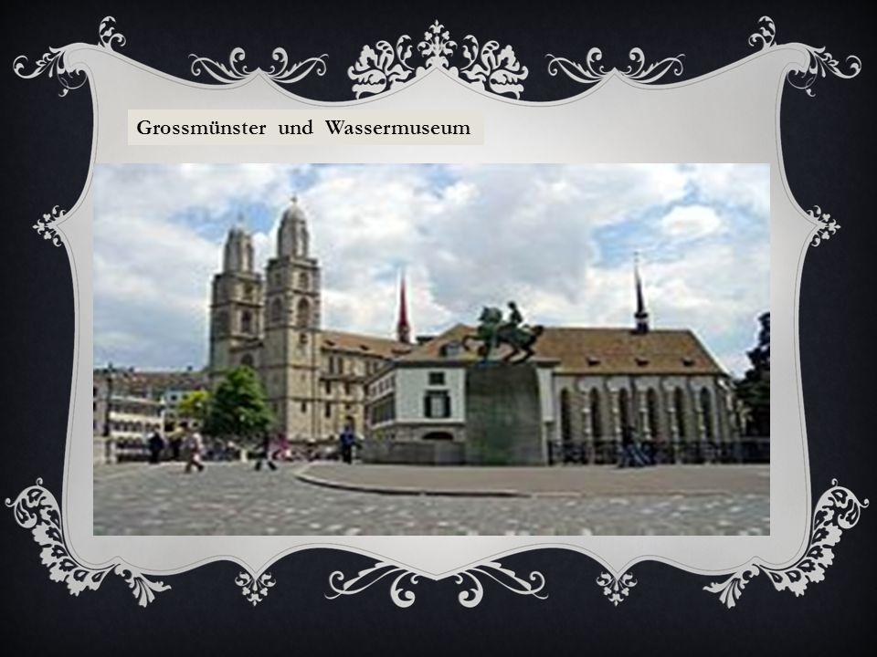 Grossmünster und Wassermuseum