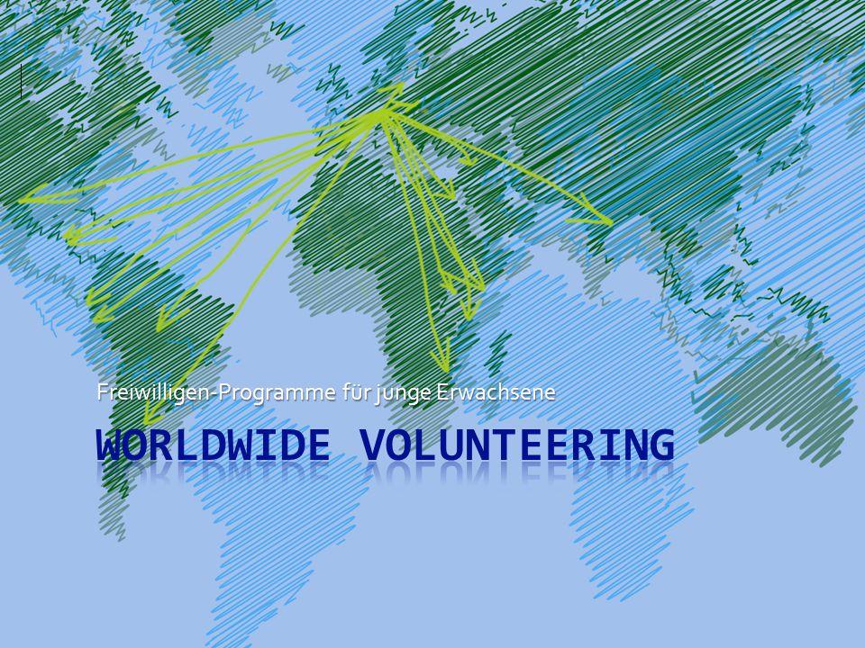 Freiwilligen-Programme für junge Erwachsene