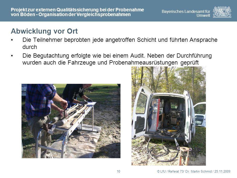 Bayerisches Landesamt für Umwelt © LfU / Referat 73/ Dr.