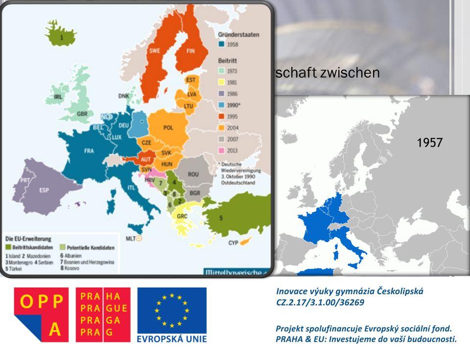 E UROPÄISCHE U NION wirtschaftliche und politische Partnerschaft zwischen Staaten 28 Mitglieder 24 Amtssprachen 500 Mil. Einwohner der Ursprung nach d