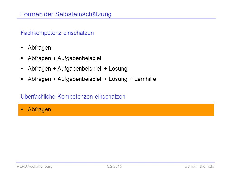 RLFB Aschaffenburg3.2.2015 wolfram-thom.de Handout Seite 9