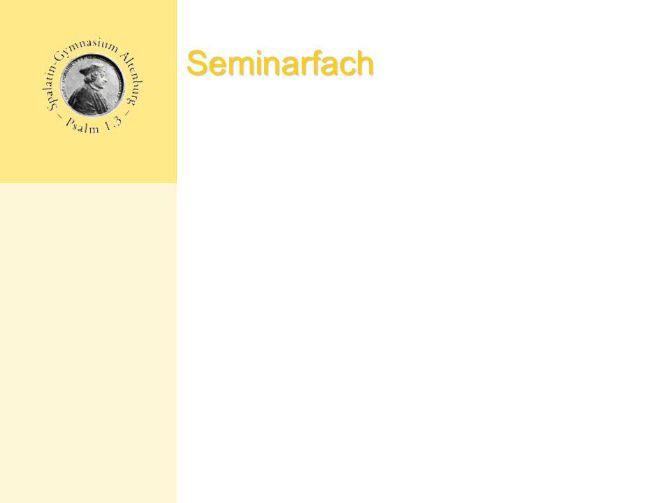 Seminarfach