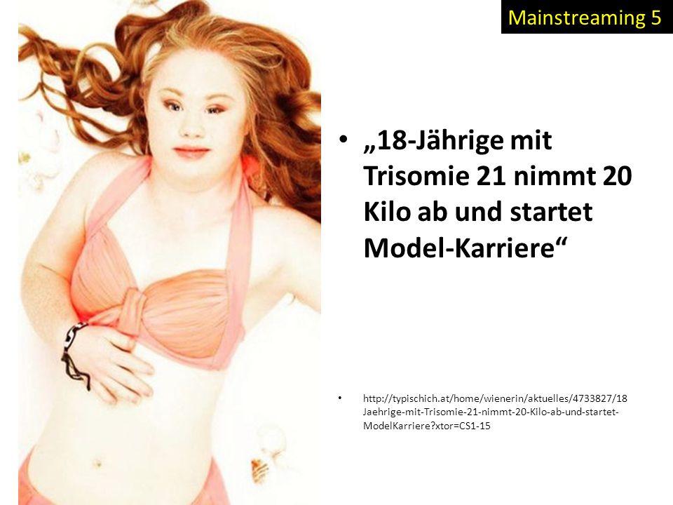 """""""18-Jährige mit Trisomie 21 nimmt 20 Kilo ab und startet Model-Karriere"""" http://typischich.at/home/wienerin/aktuelles/4733827/18 Jaehrige-mit-Trisomie"""