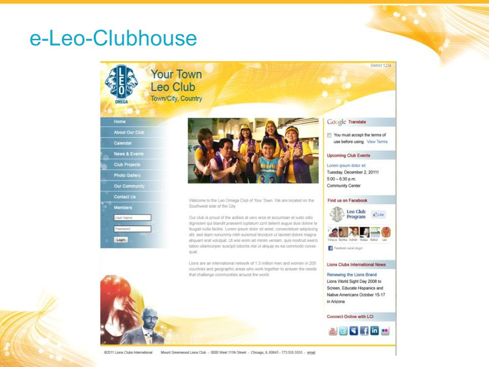 e-Leo-Clubhouse