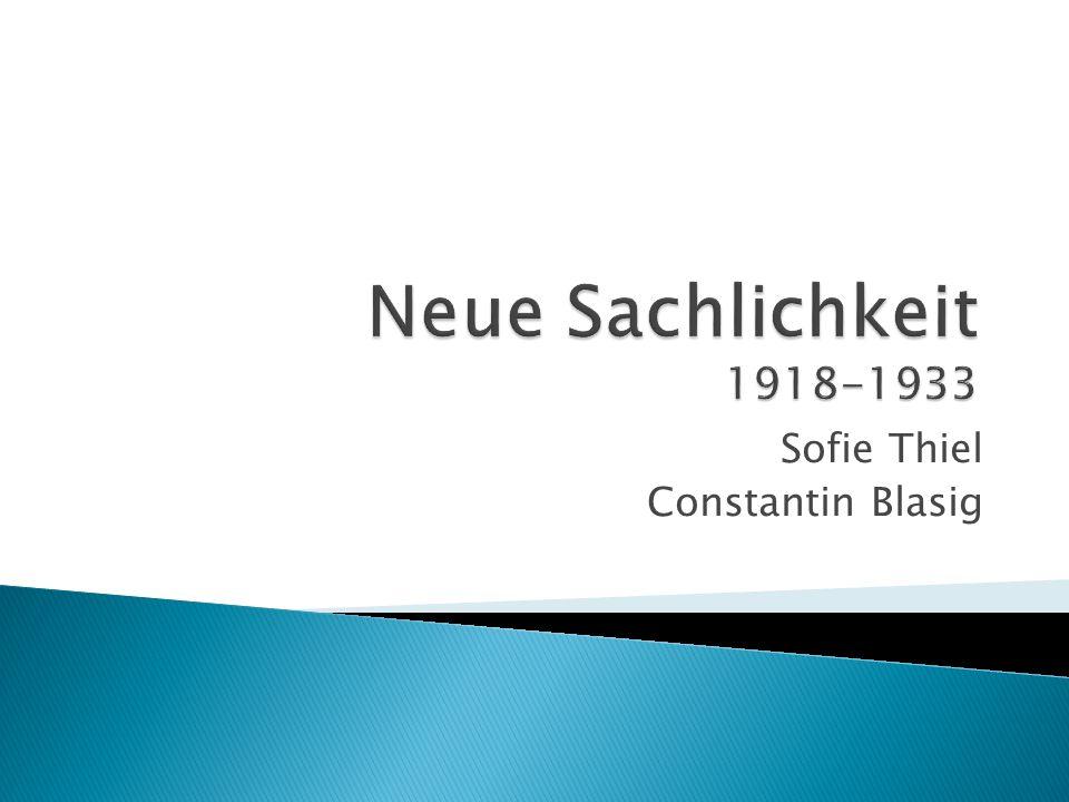 Sofie Thiel Constantin Blasig