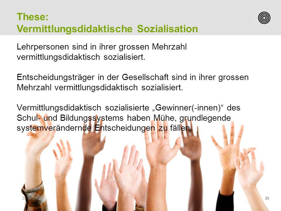 Prof. Peter Heiniger Leiter Studiengang Sekundarstufe II Lehrpersonen sind in ihrer grossen Mehrzahl vermittlungsdidaktisch sozialisiert. Entscheidung