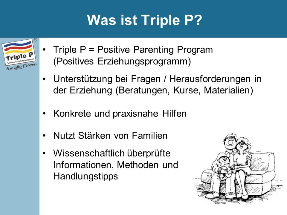 Was ist Triple P.