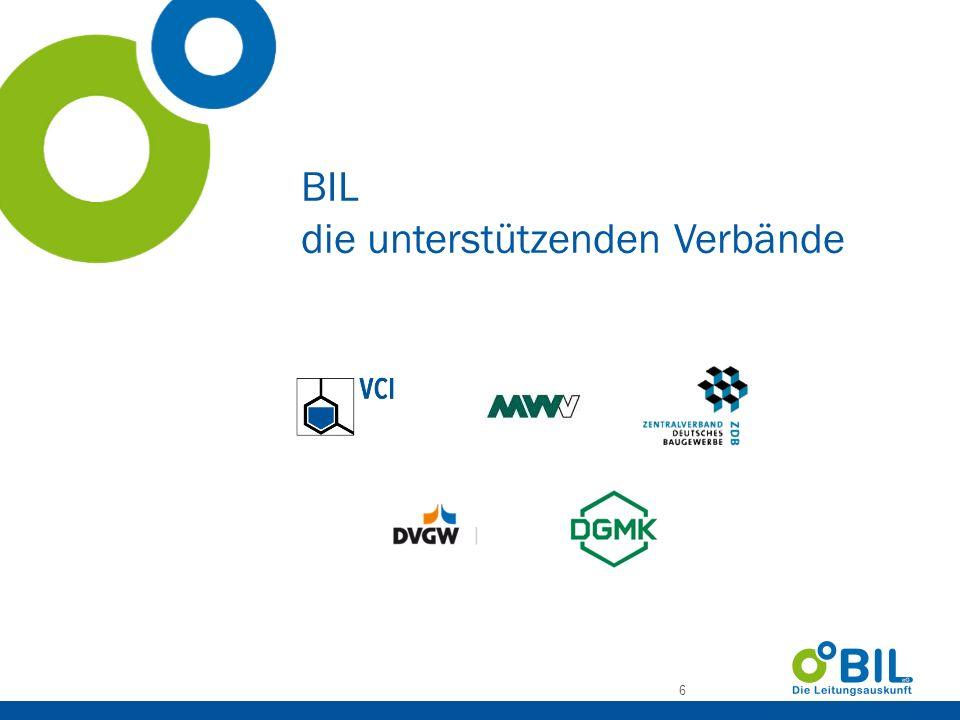 BIL-Leitbild BIL ist ein Dienstleistungsangebot zur Unterstützung der Sicherheit und des Funktionserhalt der leitungsbezogenen Infrastruktur.